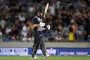 Ross Taylor brought up his first T20I fifty in six years, New Zealand v India, 1st T20I, Auckland, January 24, 2020