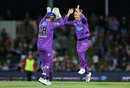 D'Arcy Short claimed a career-best 5 for 21, Hobart Hurricanes v Sydney Thunder, Big Bash, Hobart, January 24, 2020