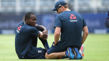 Jofra Archer pulled up during the warm-ups