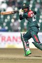 Mohammad Naim steers one towards third man, Pakistan v Bangladesh, 1st T20I, Lahore, January 23, 2020