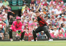 Aaron Finch briefly opted for no headware , Sydney Sixers v Melbourne Renegades, Big Bash, SCG, January 25, 2020