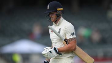 Ben Stokes exchanged words with a spectator