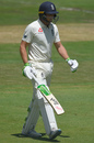 Jos Buttler trudges off after his dismissal, South Africa v England, 4th Test, Day 2, Johannesburg, January 25, 2020