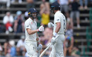 Mark Wood and Stuart Broad reach their 50 partnership, South Africa v England, 4th Test, Day 2, Johannesburg, January 25, 2020