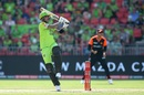 Alex Hales goes big during his match-winning innings, Sydney Thunder v Perth Scorchers, Big Bash League 2019-20, Sydney, January 26, 2020