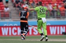 Chris Tremain bowled a miserly spell, Sydney Thunder v Perth Scorchers, Big Bash League 2019-20, Sydney, January 26, 2020