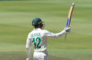 Quinton de Kock made a battling half-century, South Africa v England, 4th Test, Day 3, Johannesburg, January 26, 2020