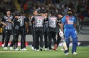 Tim Southee sent back Rohit Sharma in the first over, New Zealand v India, 2nd T20I, Auckland, January 26, 2020