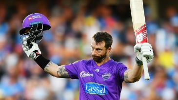 Matthew Wade got to his century in 48 balls