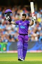 Matthew Wade got to his century in 48 balls, Adelaide Strikers v Hobart Hurricanes, Big Bash League 2019-20, Adelaide, January 26, 2020
