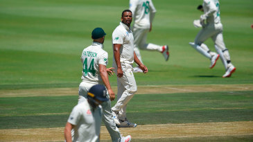 Vernon Philander was fined 15% of his match fee for a send-off to Jos Buttler