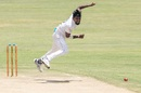 Suranga Lakmal in full flight, Zimbabwe v Sri Lanka, 2nd Test, Harare, 1st day, January 27, 2020