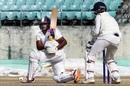 Sarfaraz Khan nails a sweep, Himachal Pradesh v Mumbai, Ranji Trophy 2019-20, Dharamsala, 1st day, January 27, 2020
