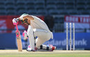 Faf du Plessis was bowled by one that kept low, South Africa v England, 4th Test, Johannesburg, 4th day, January 27, 2020
