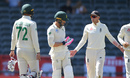Joe Root remonstrates with Faf du Plessis, South Africa v England, 4th Test, Johannesburg, 4th day, January 27, 2020