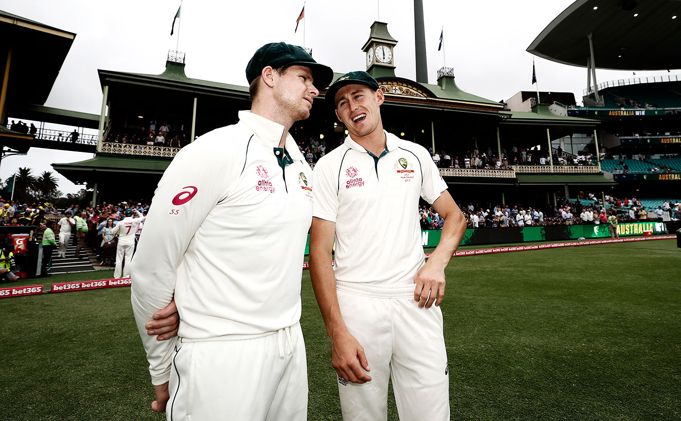 Baggy geeks: Smith and Labuschagne are similar in their obsession with the game and appetite for runs
