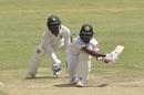 Oshada Fernando pulls out the reverse sweep, Zimbabwe v Sri Lanka, 2nd Test, Harare, 2nd day, January 28, 2020