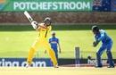 Sam Fanning cuts, Australia v India, Under-19 World Cup 2020, Super League quarter-final. Potchefstroom, January 28, 2020