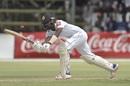 Oshada Fernando flicks on the leg side, Zimbabwe v Sri Lanka, 2nd Test, Harare, 2nd day, January 28, 2020
