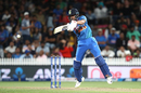 Manish Pandey plays an airborne slap through the covers