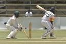 Dhananjaya de Silva is bowled, Zimbabwe v Sri Lanka, 2nd Test, Harare, 3rd day, January 29, 2020