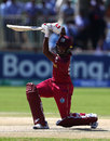 Leonardo Julien drives through the off side, West Indies v England, Under-19 World Cup, Kimberley, January 20, 2020
