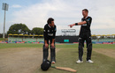 Kristian Clarke and Joey Field - the heroes of New Zealand's chase, New Zealand v West Indies, Under-19 World Cup, 2nd quarter-final, Benoni, January 29, 2020