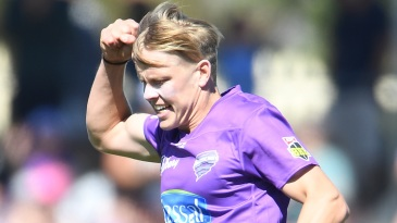 Nathan Ellis was the find of the season for Hobart Hurricanes
