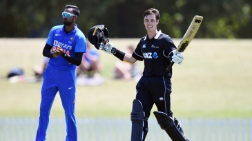 Mark Chapman has been thorn in India's side more than once on this tour