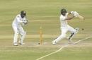 Sikandar Raza punches one of the back foot, Zimbabwe v Sri Lanka, 2nd Test, Harare, 4th day, January 30, 2020