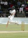 Sikandar Raza avoids a short ball, Zimbabwe v Sri Lanka, 2nd Test, Harare, 4th day, January 30, 2020