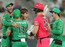 Adam Zampa was pumped after removing Steven Smith, Melbourne Stars v Sydney Sixers, Big Bash, Qualifier, MCG, January 31, 2020