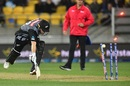 Colin Munro was run-out via a relay throw between Shardul Thakur and Virat Kohli, New Zealand v India, 4th T20I, Wellington, January 31, 2020