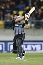 Tim Seifert picked up the New Zealand chase after Colin Munro fell, New Zealand v India, 4th T20I, Wellington, January 31, 2020