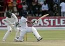 Kusal Mendis employs the sweep, Zimbabwe v Sri Lanka, 2nd Test, Harare, 5th day, January 31, 2020