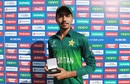 Mohammad Huraira was named the Player of the Match, Pakistan v Afghanistan, quarter-final, Under-19 World Cup, Benoni, January 31, 2020