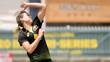 Ellyse Perry was in super form with the ball