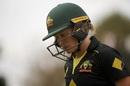 Alyssa Healy fell cheaply, Australia v India, Women's T20I tri-series, Canberra, February 2, 2020