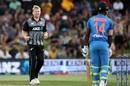 Scott Kuggeleijn picked up two wickets, New Zealand v India, 5th T20I, Mount Maunganui, February 2, 2020