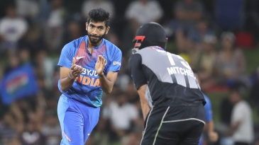 The New Zealand batsmen just couldn't get on top of Jasprit Bumrah