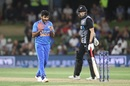 Shardul Thakur struck a couple of late blows, New Zealand v India, 5th T20I, Mount Maunganui, February 2, 2020
