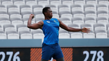 Lungi Ngidi during fielding practice at the 2019 Cricket World Cup
