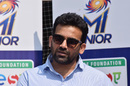 Zaheer Khan at a Mumbai Indians Junior grassroots event, Mumbai, February 3, 2020