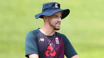Tom Moores during an England Lions training session at Allan Border Field in Brisbane