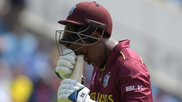 Shimron Hetmyer has been left out of West Indies' squad