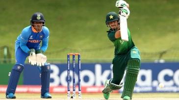 Haider Ali crunches a drive