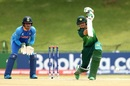Haider Ali crunches a drive, India v Pakistan, U-19 World Cup semi-final, Potchefstroom, February 4, 2020