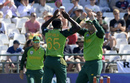 Lutho Sipamla celebrates his maiden ODI wicket, South Africa v England, 1st ODI, Cape Town, February 4, 2020