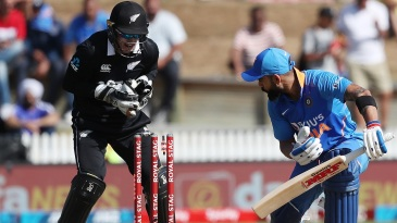 Ish Sodhi foxed Virat Kohli with a ripping googly