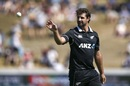 Colin de Grandhomme bowled a tidy spell, New Zealand v India, 1st ODI, Hamilton, February 5, 2020